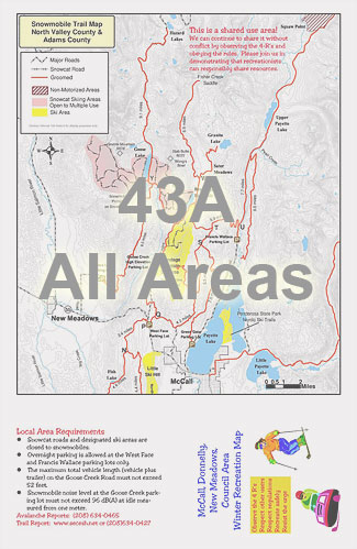 Trail Map - 43A - All