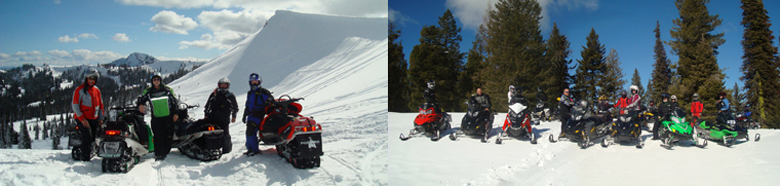 Snowmobile Rides in Idaho