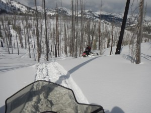 Another great Hazard Ridge Ride