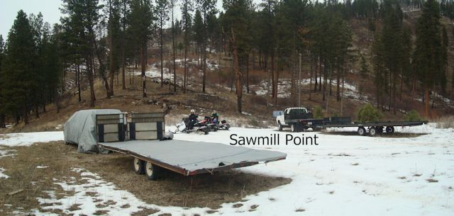 Ride to Sawmill Point